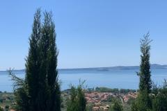 Oberhalb des Bolsena Sees