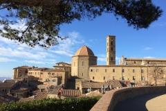 Stadtbild von Volterra